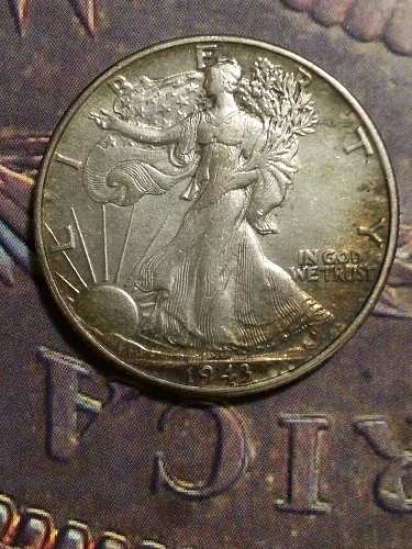 1943 Walking Liberty Half