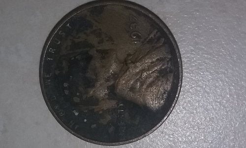 1937 P Wheat Cent