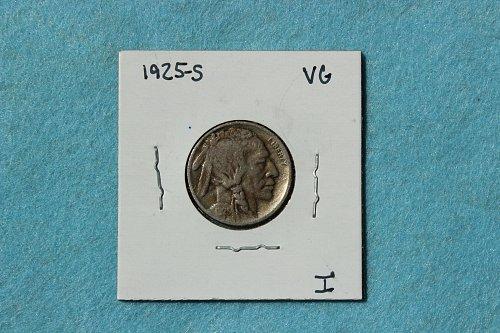 1925 S Buffalo Nickel