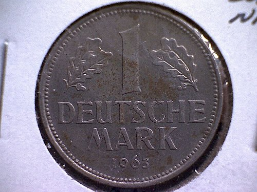 1963-D GERMANY ONE MARK