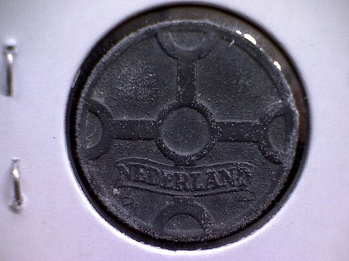 1942 NETHERLANDS ONE CENT