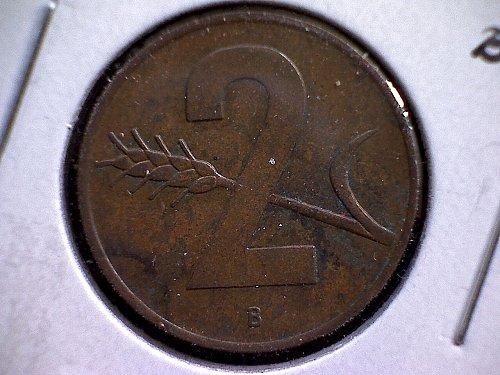 1968-B SWITZERLAND TWO RAPPEN