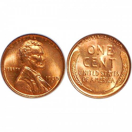 1935 D Lincoln Wheat Cent - Gem BU