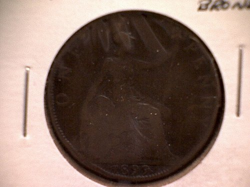 1899 GREAT BRITAIN ONE PENNY QUEEN VICTORIA