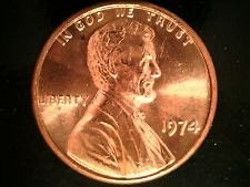 1974 P  LINCOLN CENT