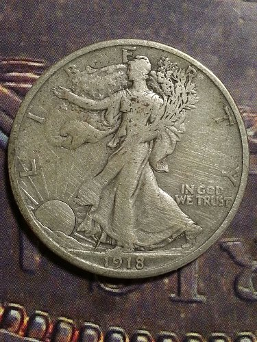 1918-S Walking Liberty Half