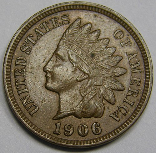 1906 P Indian Head Cent #21