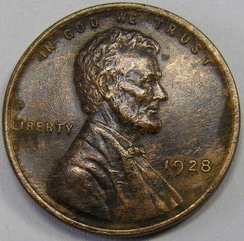 1928 P Lincoln Wheat Cent #1