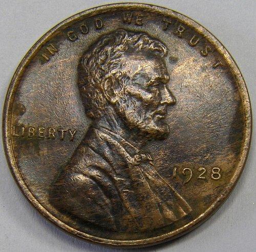 1928 P Lincoln Wheat Cent #1