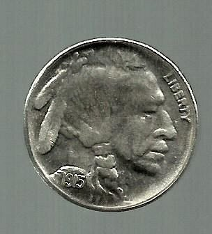 1915D Buffalo Nickel Exact COPY