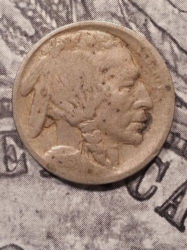 1913-S Buffalo Nickel Type 1
