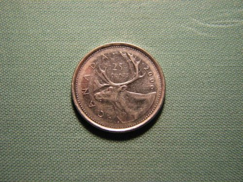 2006 Canada 25 cents*