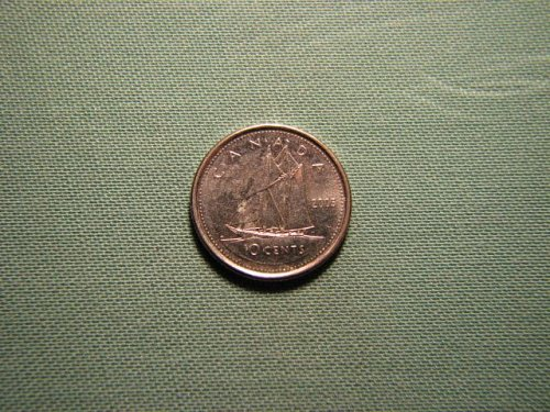 2005 Canada 10 cents