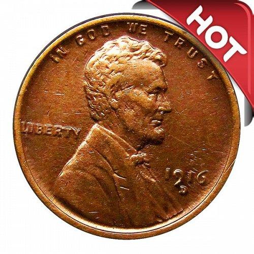 1916 D Lincoln Wheat Cent - AU