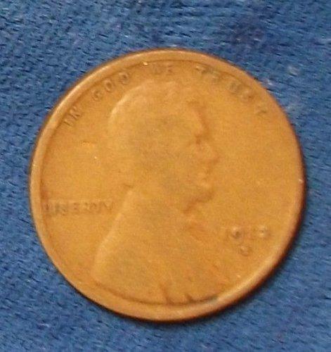 1912D Wheat Cent VG