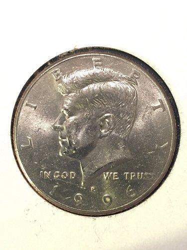 1996-P Kennedy Half Dollar