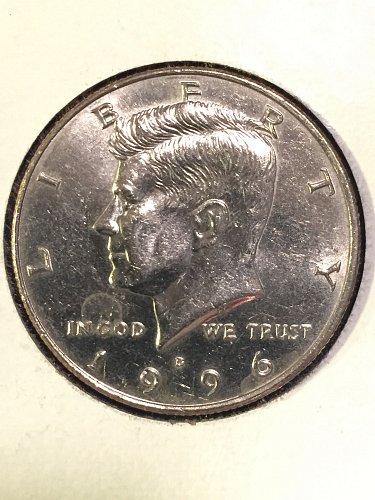 1996-D Kennedy Half Dollar