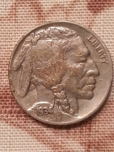 1934 Buffalo Nickel