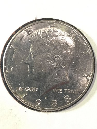 1988-P Kennedy Half Dollar
