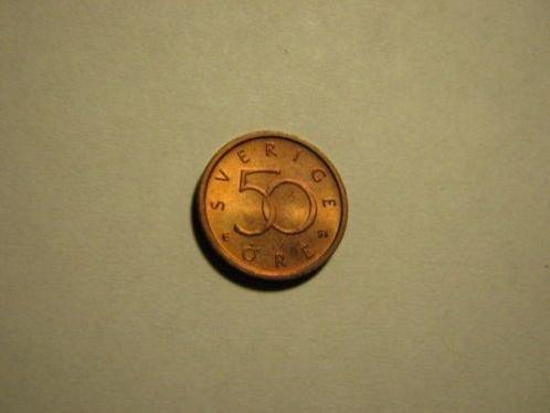 2006 Sweden 50 ore coin