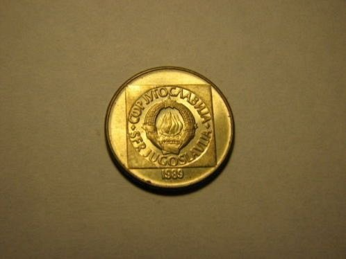 1989 Yugoslavia 100 dinara