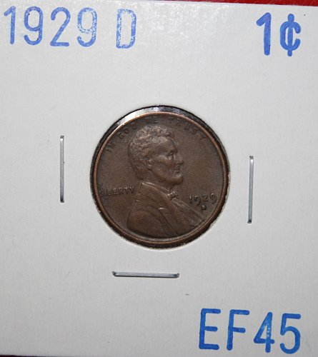 1929 D Lincoln Cent