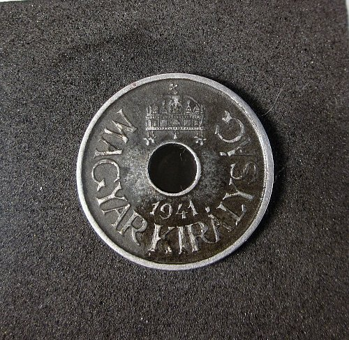 Hungary 1941 20 filler Iron
