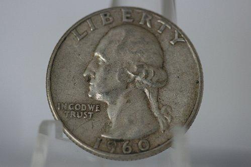 1960 P Washington Quarter