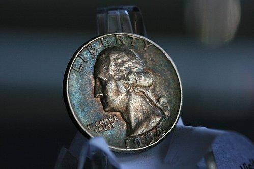 1954 P Washington Quarter XF Silver