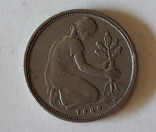 1949 Deu.Reich 50 Pfenning