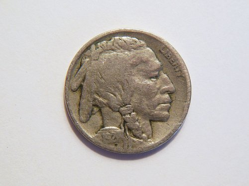 1921-P Buffalo Nickel