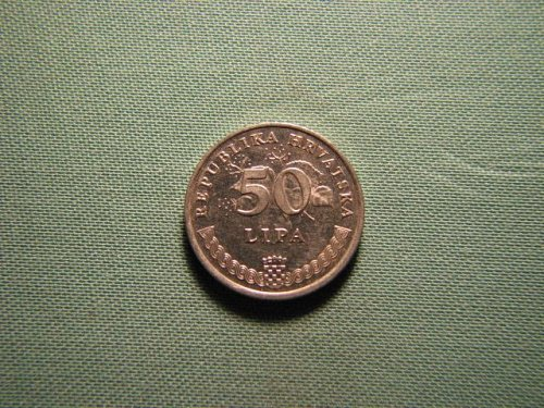 1993 Croatia 50 lipa