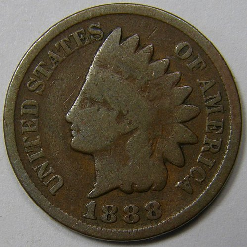 1888 Indian Head Cent #6