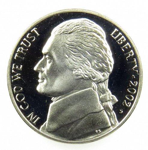 2002S Deep Cameo  +  1961 1962 1963 1964 Gem Proof Jefferson Nickels