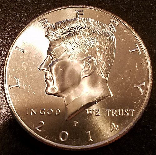 2014-P Kennedy Half Dollar - From US Mint Roll (6286)