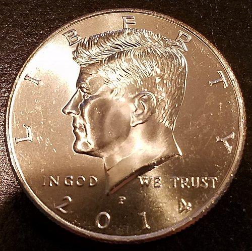 2014-P Kennedy Half Dollar - From US Mint Roll (6286)