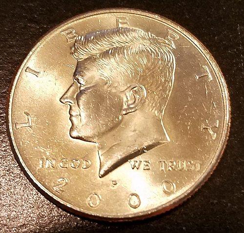 2000-P Kennedy Half Dollar (6289)