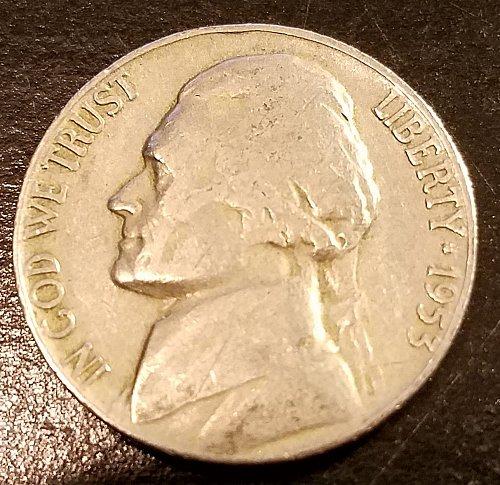 1953 Jefferson Nickel (6293)