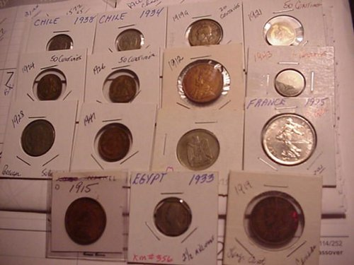 15- differant world coins nice for nice price