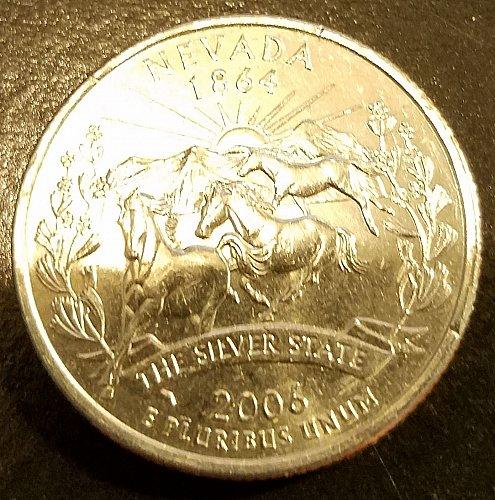 2006-P Nevada State Quarter (6306)