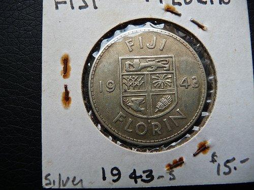 1943 - S Fiji   Florin