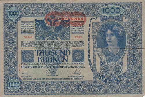 Austria 1000 Kronen 1902 - Circulated Currency