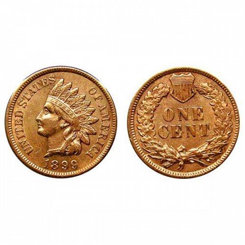 1899 BU Indian Head Cent
