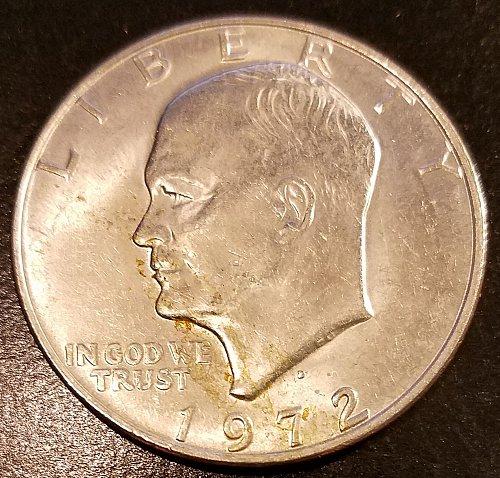 1972-D Eisenhower Dollar (6337)
