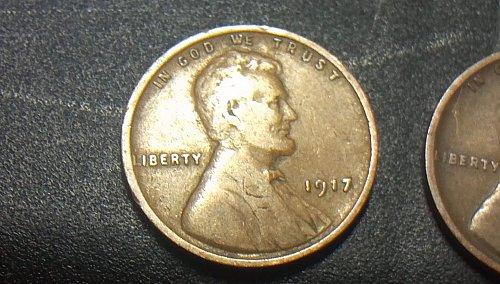 1917 P wheat