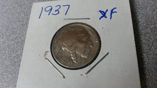 1937 nice looking buffalo nickel