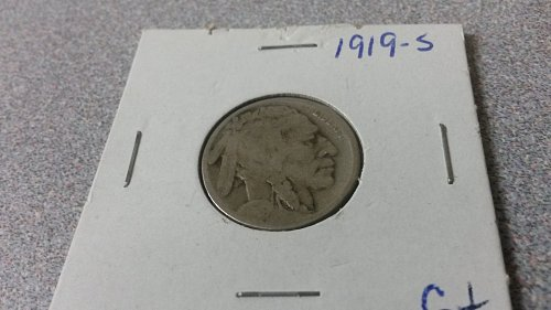 1919 S Buffalo Nickel nice