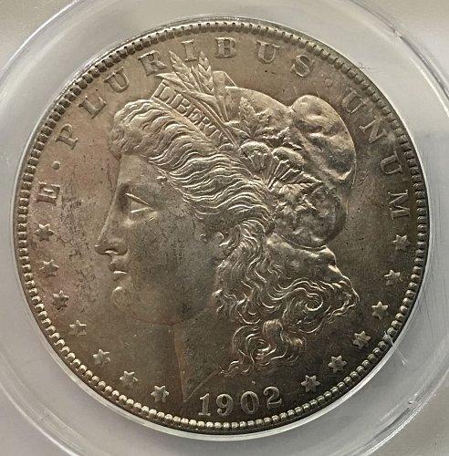 1902 O Morgan Dollar MS-62 VAM-42
