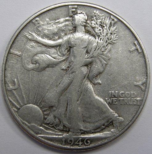1946 D Walking Liberty Half Dollar #2