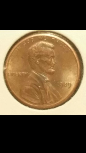 1989-P penny DDO-13 (Extra Thick Date)